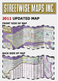 Manhattan Map Streetwise