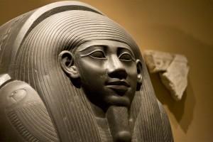 An exhibit at the Metropolitan Museum of Art