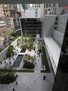 Sculpture Garden at Museum of Modern Art MoMA
