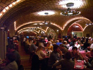 The Oyster Bar at the Grand Central Station