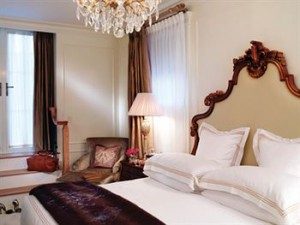 A Guest Room at The Plaza