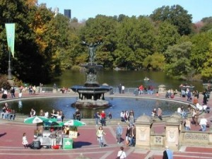 Bethesda Fountain Inside Central Park