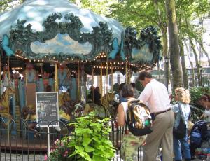 Carousel for Children at Bryant Park