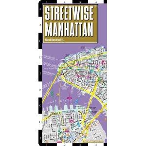 Streetwise Manhattan Map