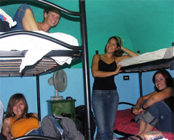 Co Ed Room in a Hostel