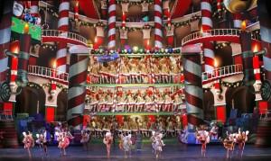 Radio City Music Hall During Christmas