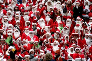 Become Santa at Santacon in NYC