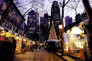 Holiday Shops at Bryant Park in New York City