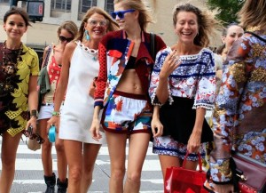 New York City Street Style and Street Fashion in Summer