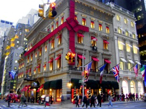 New York Stores Dress Up for Christmas / Holidays - 2
