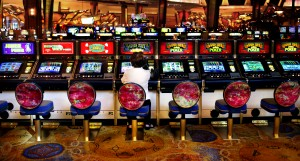 Slot Machines at the Mohegan Sun Indian Casino Resort
