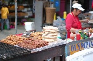 Street Food at Hells Kitchen Flea Market